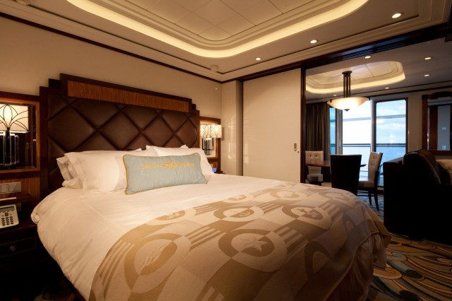 Spacious staterooms