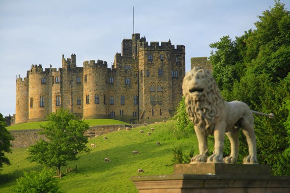Alnwick Castle, Northumberland