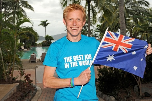 What happened to the Brit who got the 'best job in the world'?