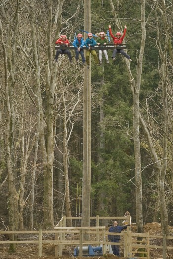 Sky Ride, Tree Top Adventure