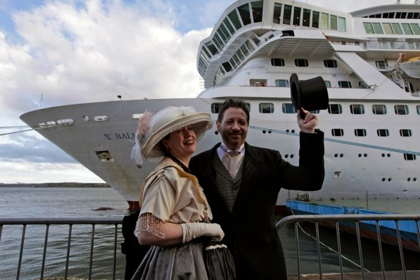 BBC cameraman airlifted from Titanic memorial cruise after falling ill