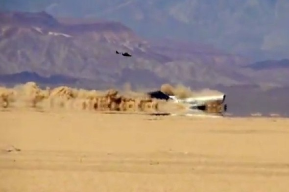 Video: Passenger jet crashes into Mexican desert - on purpose