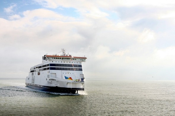 200 drunken students have 'mass brawl' and rampage on ferry to Calais