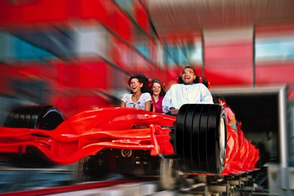 Formula Rossa, Ferrari World, Abu Dhabi