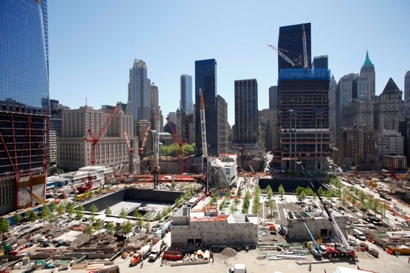 New time-lapse video shows Ground Zero's Freedom Tower built in two minutes