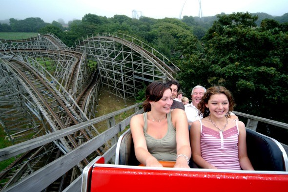 Megafobia, Oakwood Theme Park, Pembrokeshire