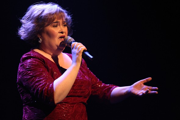Susan Boyle left 'shaken' after stalker tries to enter her hotel room in Liverpool