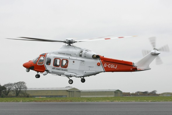 Coastguard pilot suspended for using helicopter to buy meat