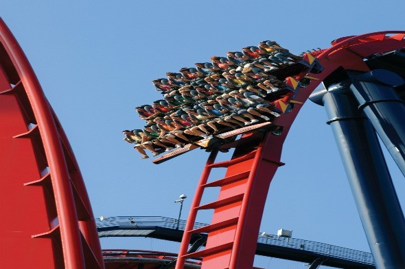 Floorless SkeiKra, Busch Gardens, Florida