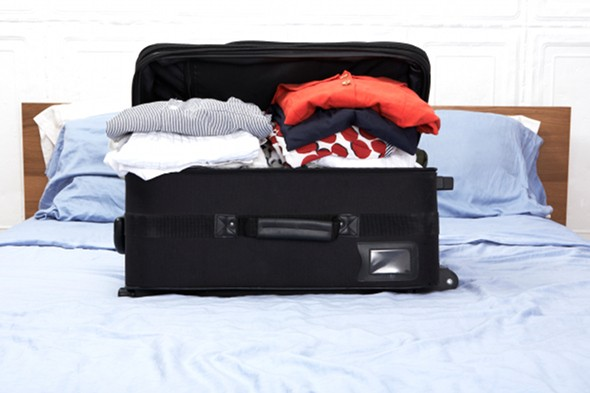 More than half of men have their luggage 'hijacked' by their partners