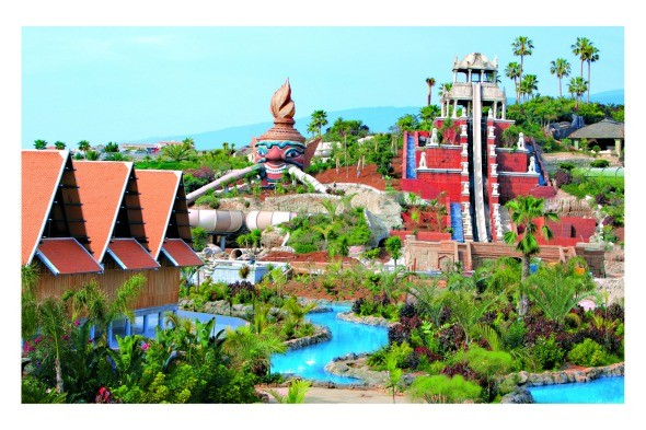 Tower of Power, Siam Park, Tenerife