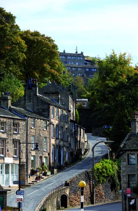 Recognise this Yorkshire village? It's the setting for one of Britain's most popular sitcoms of all time...