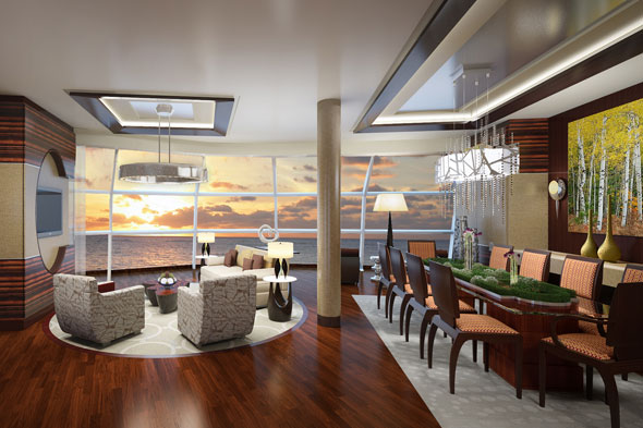 Celebrity Cruises Reflection Suite