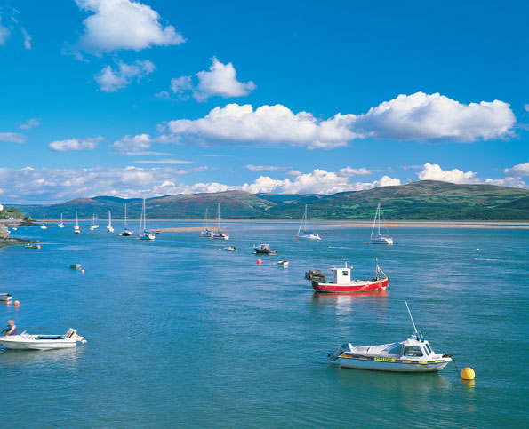 Best for watersports: Aberdyfi, Gwynedd