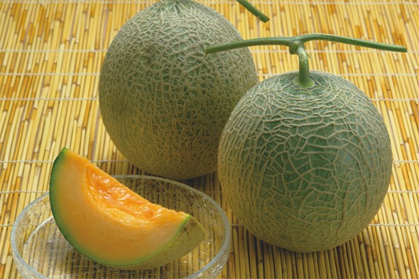 Yubari melon - up to 10,000 yen each