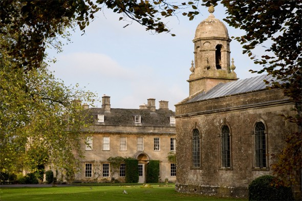 Treat yourself to a spa break at Babington House, Somerset