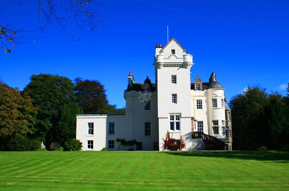 Baronial Castle, Strachur, Scotland