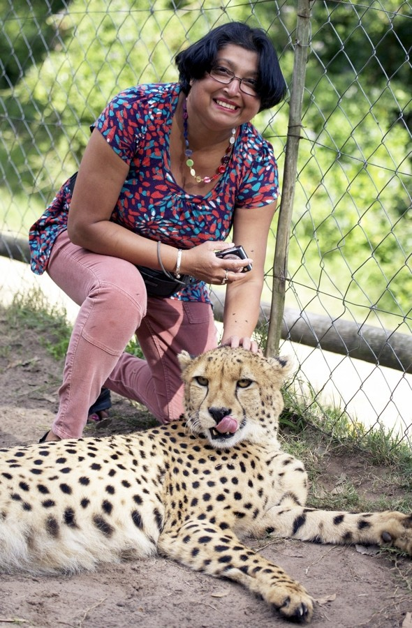 British woman mauled by cheetahs at safari park in South Africa