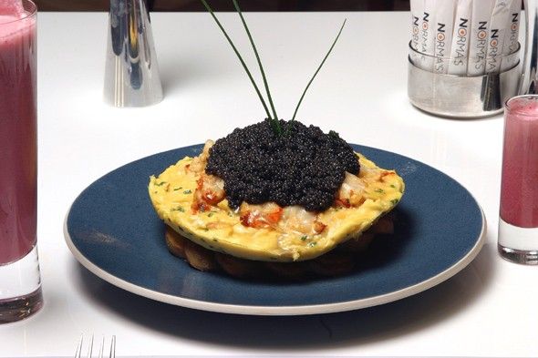 Zillion Dollar Lobster Frittata - $1,000