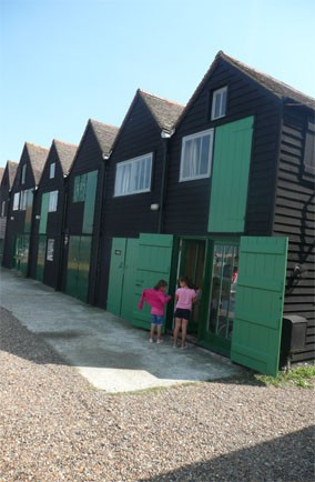 Fisherman's Huts at Hotel Continental, Kent