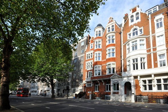 Apartment overlooking Hyde Park, Westminster