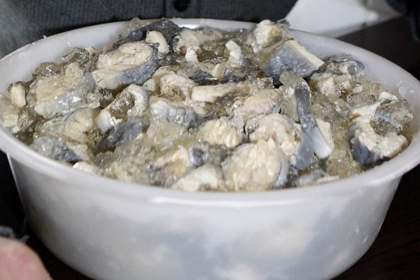 Jellied eels - London