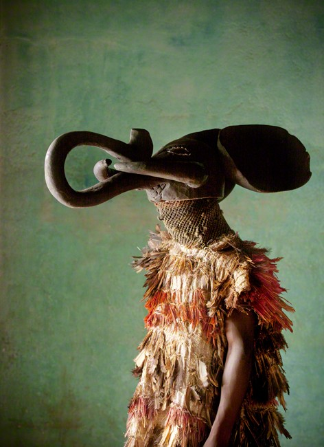 Tribal dancer, Bafut, Cameroon