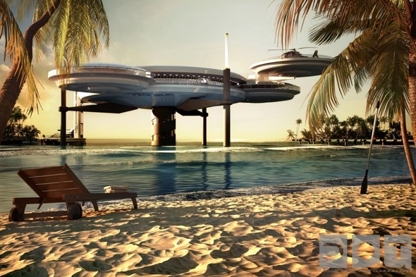 New underwater 'discus' hotel planned for Dubai