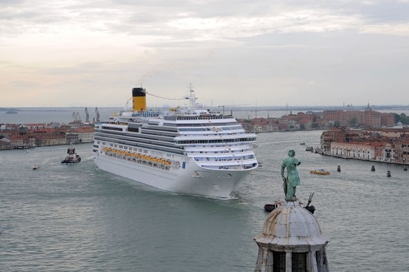 Costa Concordia company launch new 415m cruise ship