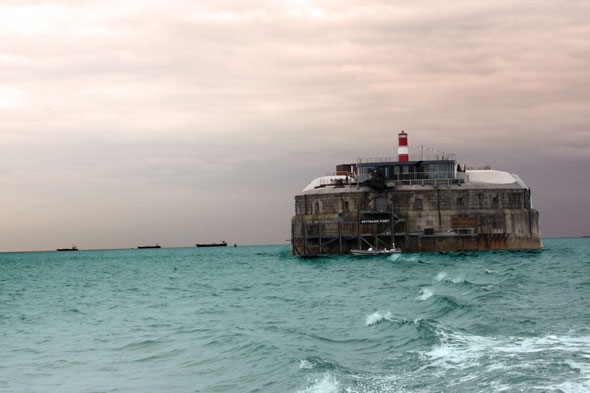 Spitbank Fort, near Southampton