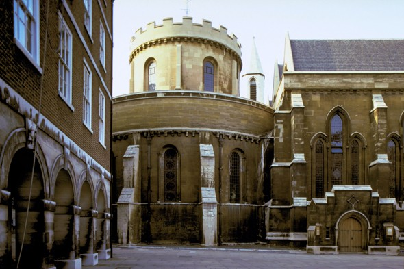 Explore London's Gothic architecture at Temple Church