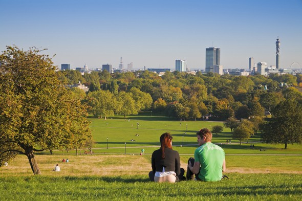 Take in the views on Primrose Hill