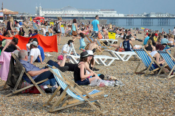 Phew, what a scorcher! Mass exodus to the coast in 30C heat
