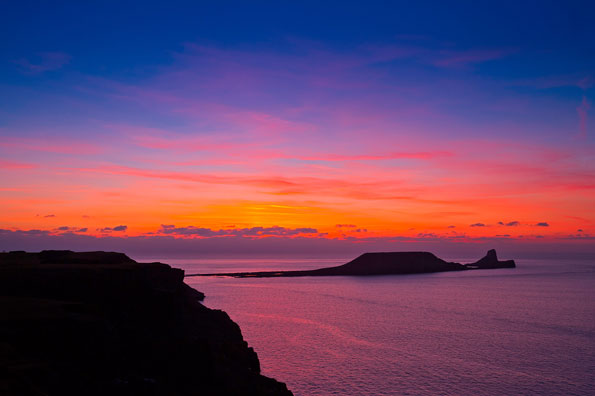 Best for sunsets: Rhossili Bay, Gower Peninsula