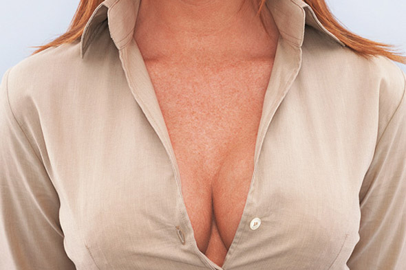 Airline tells woman: 'cover up your cleavage or don't fly'