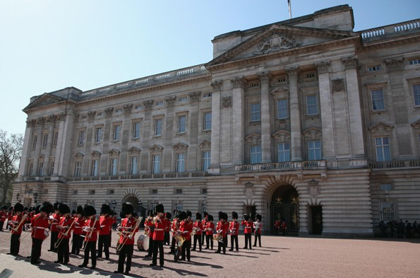 Take a tour of Buckingham Palace