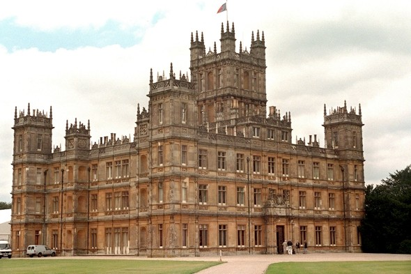 Downton Abbey castle opens its doors for summer tours