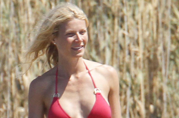 Gwyneth Paltrow in Italy