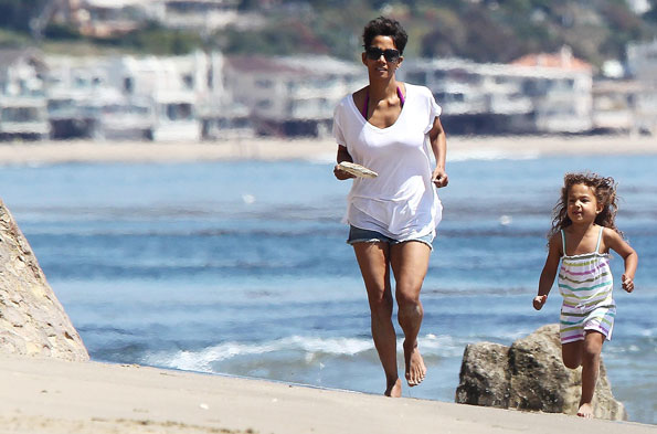 Halle Berry in Malibu
