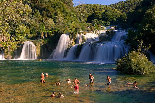 Swim wild in the Krka National Park