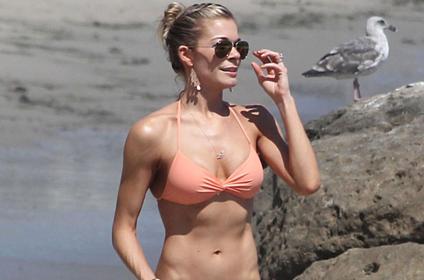 LeAnne Rimes in Malibu