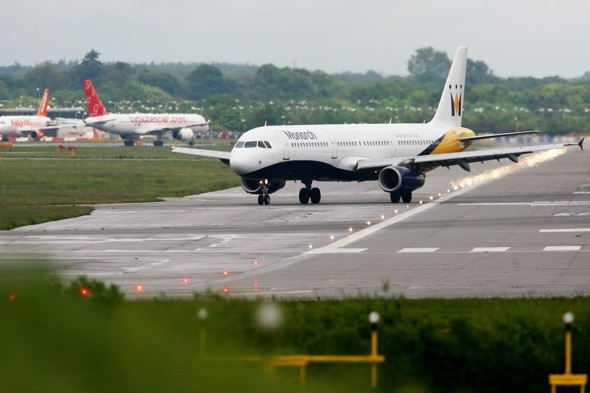 Manchester flight makes emergency landing after man sets fire to friend's hair
