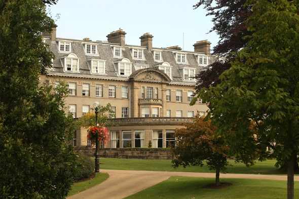 Vomiting virus hits 100 people at luxury Scottish hotel