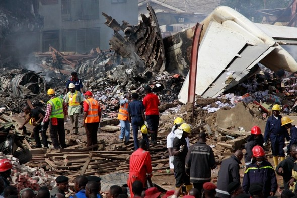 British woman 'died on Nigeria plane crash'