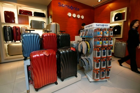 Samsonite recalls 250,000 suitcases after 'cancer compound found on handles'