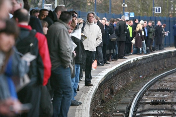 Rail commuters in Cardiff 'happiest in Britain'