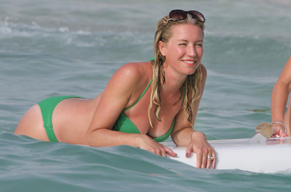 Denise Van Outen in Dubai