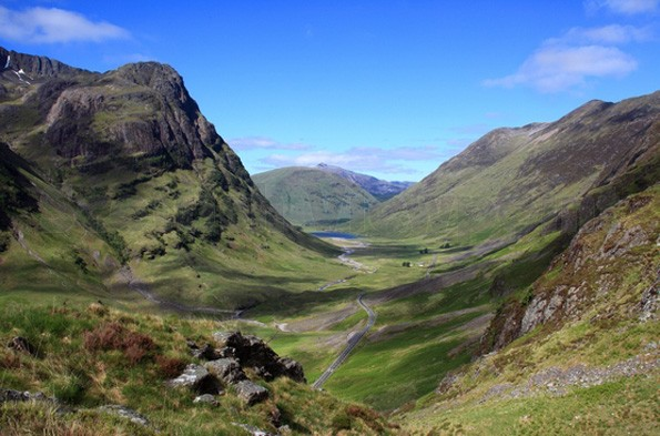 Through Glen Coe
