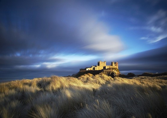 Enchanting skies over Bamburgh Castle: Northumberland