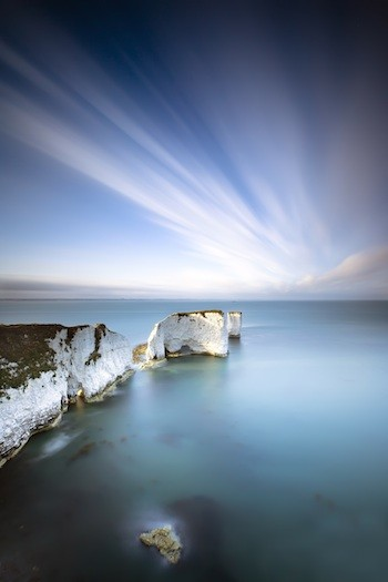 Old Harry can break the rules: Old Harry Rocks, Dorset